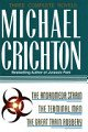 Three Complete Novels: The Andromeda Strain, The Terminal Man, and The Great Train Robbery (0517084791) by Michael Crichton