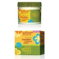 Alba Botanica Jasmine & Vitamin E Moisture Cream, 3 Ounce
