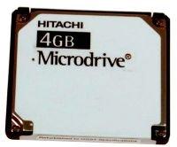 Hitachi 4gb Digital Microdrive High Speed Memory Card