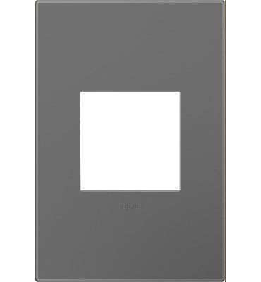 Legrand Adorne Magnesium 1-Gang Wall Plate AWP1G2MG6