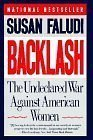 Backlash - The Undeclared War Against Women (0701146435) by SUSAN FALUDI