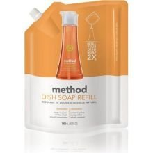 Method Home Clementine Dish Detergent Refill, 36 Ounce -- 6 per case. (Method Dish Detergent Refill compare prices)