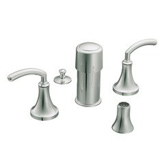 Moen TS5215 Icon Two-Handle Bidet Faucet without Valve, Chrome