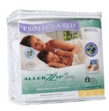 Protect-A-Bed AllerZip Terry Mattress Cover Twin CVR035 Picture