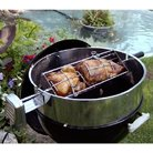 Buy E-Z Que WK-17.5×6 Kettle-Ring Stainless Rotisserie Kit with 6-Inch Cradle
