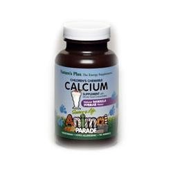 Nature's Plus - Animal Parade Calcium, 250 mg, 90 chewable tablets