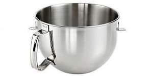 New Kitchenaid Bowl for Stand Mixer 6-quart Stainless Steel S.s. Kn2b6peh One Day Shipping Good Gift Fast Shipping