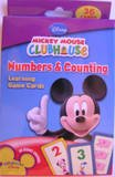 Mickey Mouse Numbers & Counting Learning Flash Cards