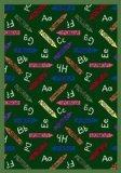 "Joy Carpets Playful Patterns Children's Crayons Area Rug, Green, 3'10"" x 5'4"" - 1"