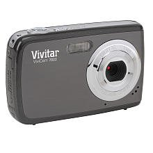 Vivitar V7022 Graphite Vivicam 7.1 Mp Digital Camera With 1.8-Inch Lcd Body Only (Graphite)