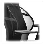 Air Flow Office Seat Cushion Back Rest Fabric Support
