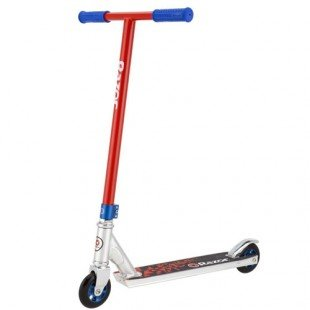 Razor Ultra Pro Lo Stunt Scooter - Red