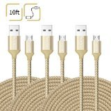 10ft Micro USB Cables