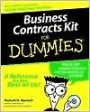img - for Business Contracts Kit for Dummies Publisher: For Dummies book / textbook / text book