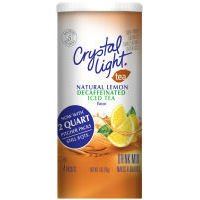 Crystal Light Decaffeinated Natural Lemon Iced Tea 2Oz (Pack Of 12)