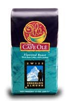 Heb Cafe Ole Whole Bean Coffee 12Oz Bag (Pack Of 3) (Swiss Chocolate Almond - Medium Dark Roast (Full City))