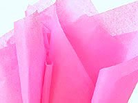 "Brand New Bright Barbie Pink Bulk Tissue Paper 15"" X 20"" - 100 Sheets front-947996"