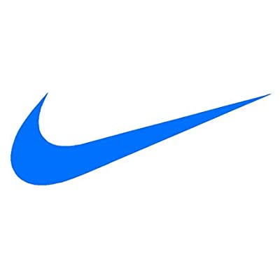 Amazon.com - Nike Swoosh Logo Vinyl Sticker Decal-Blue-15 Inch -