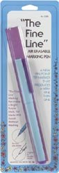 Dritz Fine Line Air Erasable Marking Pen Purple C328; 3 Items/Order