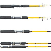 Eagle Claw  Pack-It Telescopic Spinning Rod, 5-Feet x 6-Inch