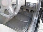 NISSAN NAVARA CAR MATS - PVC RIBBED RUBBER BLACK MATS- 4PC SET RM1606