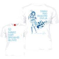 157th ラブライブ! 園田海未ver. Tシャツ ホワイト (M)
