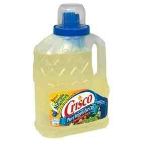 Crisco Pure Vegetable Oil, 64-Ounce (Pack of 3)