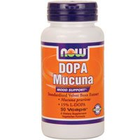 NOW Foods Dopa Mucuna Mood Support 15% L-Dopa