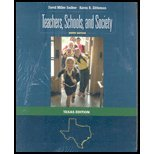9780077391072: TEACHERS,SCHOOLS,+SOCIETY-W/CD