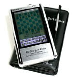 Excalibur NY22 The New York Times Deluxe Touch Screen Chess ~ Excalibur