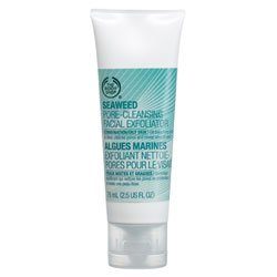 The Body Shop Seaweed Pore-Cleansing Facial Exfoliator, 2.5-Fluid Ounce