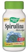 Nature's Way Spirulina Capsules, 100 Count