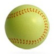 Yellow Softball Lip Balm