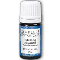 Essential Oil Tuberose Absolute Simplers Botanicals 2 ml Oil