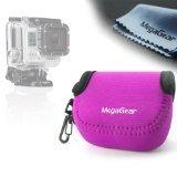 MegaGear ''Ultra Light'' Neoprene Camera Case Bag For GoPro, GoPro HD, GoPro Hero3+ (Hotpink)