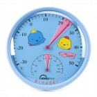 Mingle Th101A Baby Room Table Style Thermometer Hygrometer - Blue front-513324