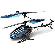 Remote Control RC Radio Control Gyropter Helicopter with LED Lights (Colors Blue and Silver sent at random)