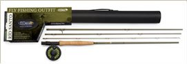 St. Croix - Rio Santo Fly Fishing Outfits: 9', LW: 5, RW: 3.4, PC: 4 (Model: RSK905.4)