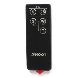 RC-1 IR Remote Control for EOS Rebel XSi 450D, Rebel XTi 400D, XT 350D, Rebel 300D, 30/33/30V, 50/55, kissIII, kissIIIL, 100, 10, 300V, 300X, 300VQD, IX, IXUS Jr/II/III