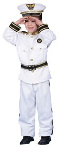 Dress Up America Halloween Cosplay Deluxe Navy Admiral Costume Set X-Large 16-18