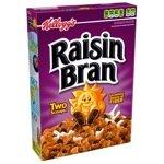 Kelloggs Raisin Bran 390 g (Pack of 3)