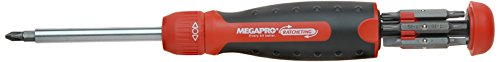 Megapro 211R2C36RD 13-In-1 Ratcheting Driver, Red
