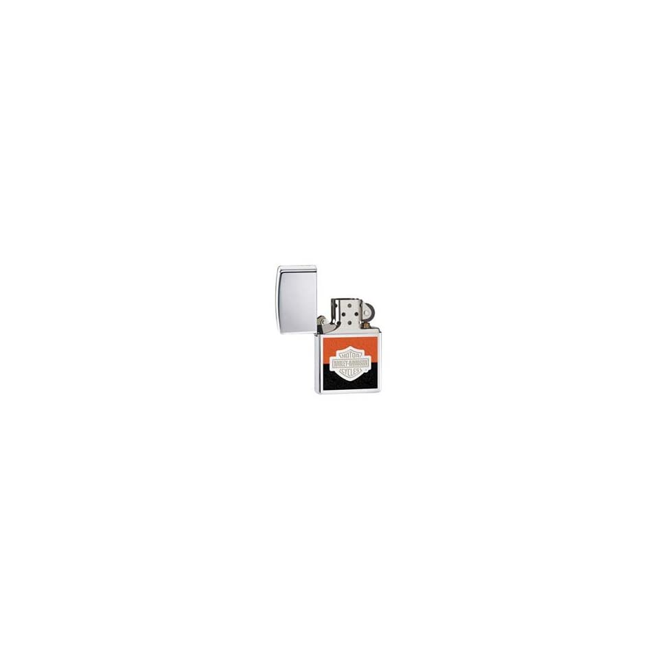 Zippo Harley Davidson High Polish Chrome Lighter