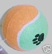 Dog Toy Jumbo 4″ Tennis Ball Fetching Ball (2)