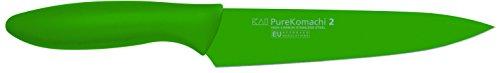 Kai-Pure-Komachi-2-Cuchillo-color-verde