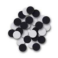 Flipside Products 45006 Create-A-Shape Black and White 2 in. Circles - 48 Pack