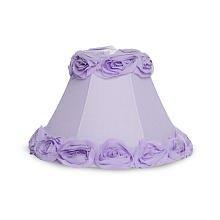 By Design 3D Lavender Rosebud Lamp Shade