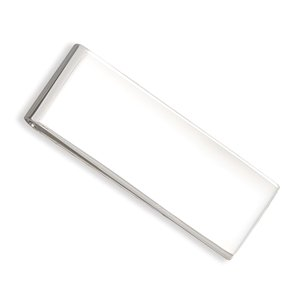 Polished Money Clip 51.5mm X 20mm Sterling Silver Money Clip - JewelryWeb