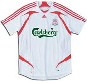 Adidas Liverpool Replica jersey- white/scarlet