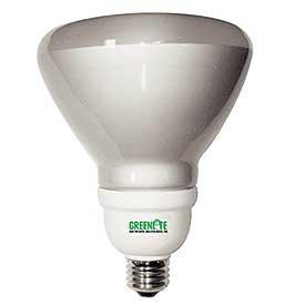 Greenlite Lighting 23W/Elr40/Dim 23 Watt Dimmable Covered Reflector Cfl Bulb - Bright White